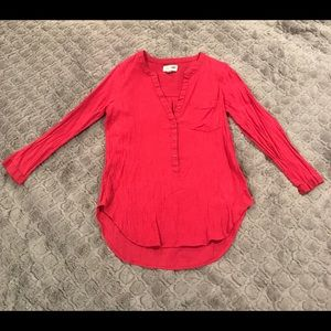 ⭐️Pink Old Navy Gauzy Tunic